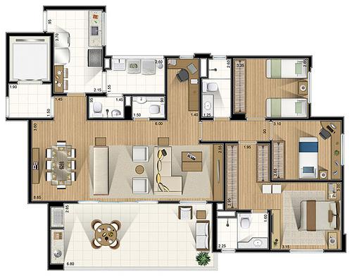 Plantas de casas grandes dicas para construir e modelos for Modelos de casas grandes