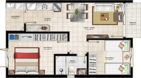 Plantas de Casas Simples – Projetos e Modelos Grátis