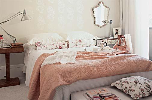 Quarto de casal rom ntico fotos e dicas de como decorar - Camas estilo romantico ...