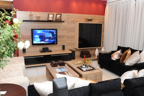 Decoração de salas de estar