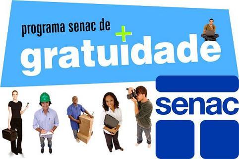 SENAC PSG 2014 – Cursos Grátis Manaus