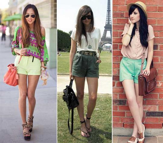Shorts Femininos | Modelos e Tendência 2012