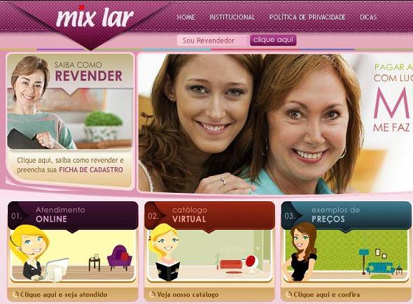 Site Mix Lar Enxovais – www.mixlar.com.br