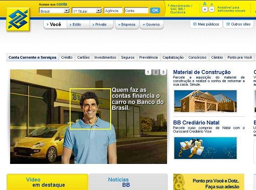 www.bb.com.br: Site Banco do Brasil