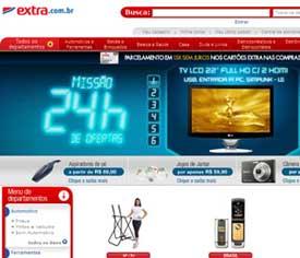 Site Extra Hipermercado – www.extra.com.br