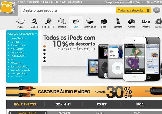 Ofertas Lojas Fnac – www.fnac.com.br