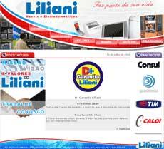 Site Lojas Liliani – www.liliani.com.br