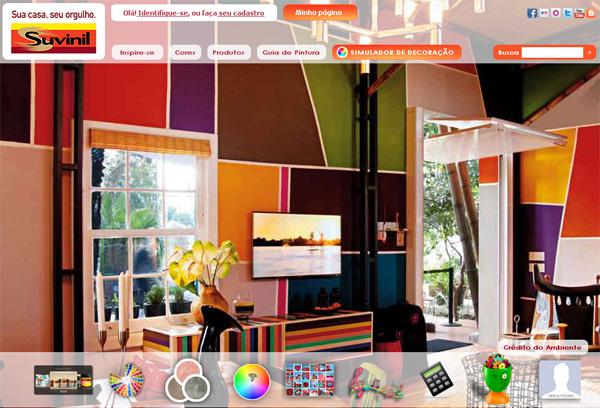 Site Tintas Suvinil – www.suvinil.com.br