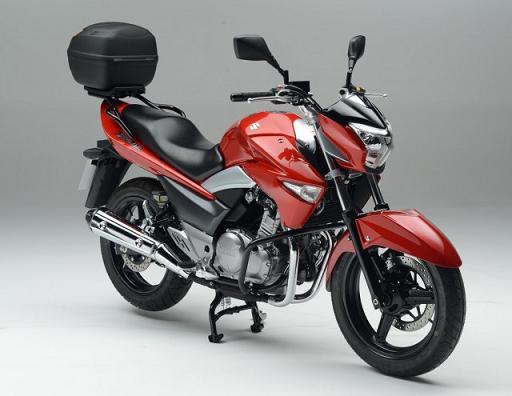 Suzuki Motos: Linha 2014