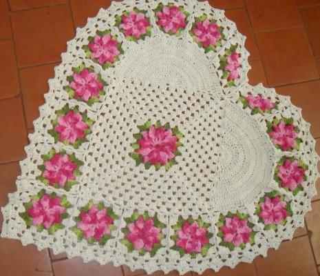 Tapete Simples e Prático de Crochê – Dicas, Passo a Passo