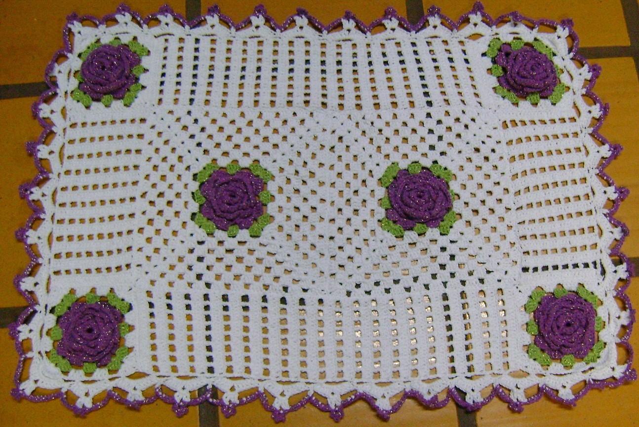 Portanto aprenda a fazer tapetes de crochê, pois os trabalhos manuais