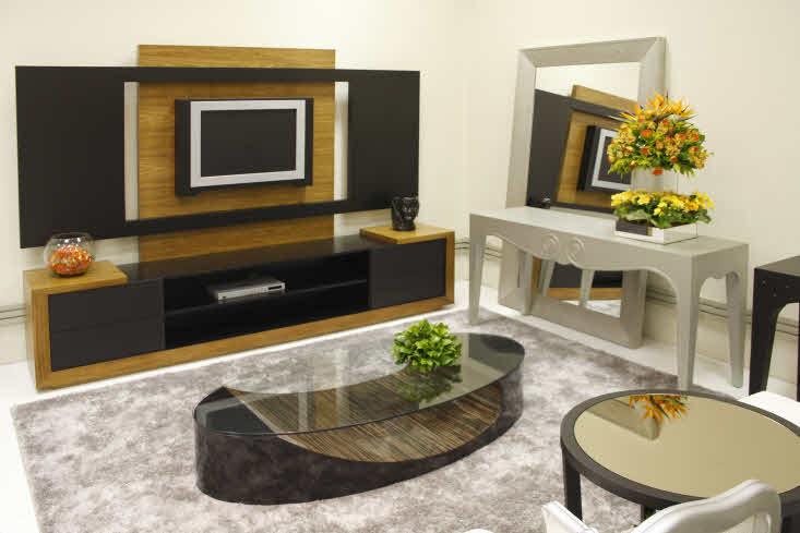Achados da moda 100 salas decoradas para voc se inspirar for Imagenes de salas decoradas