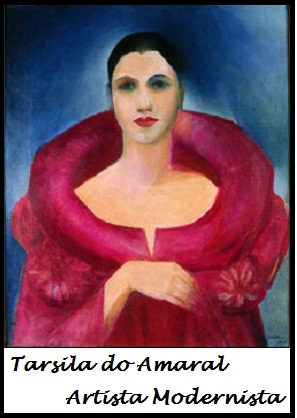 Tarsila do Amaral – Fotos de Obras Famosas, Quadros e Arte do Modernismo