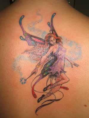 Tatuagens De Fadas Femininas     Fotos E Modelos