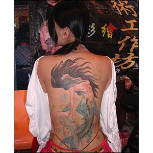 20 Tatuagens Femininas de Dragão |Tatuagens Femininas