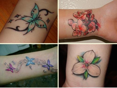 Tatuagens Femininas no Pulso – Fotos e modelos