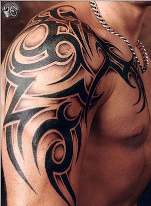 Tatuagem Tribal Masculina – Dicas e Fotos