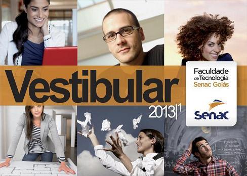 Vestibular Senac 2013 – Cursos e Inscrições
