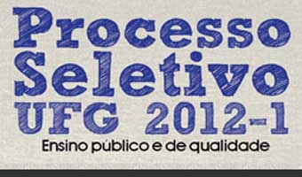 Vestibular UFG 2012 &#8211; Dicas e inscries