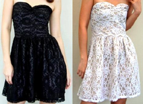 Vestidos de Renda Verão 2012 – Dicas e Fotos