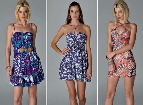 Vestidos Curtos Verão 2012