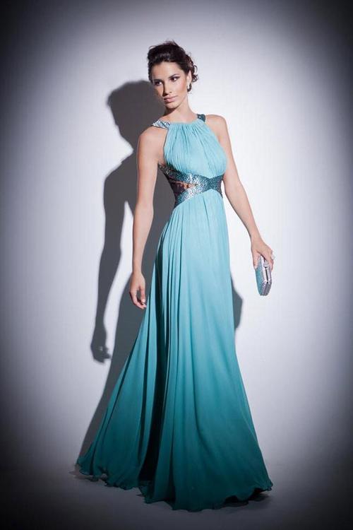 Selección Amplia De baile l hombro evening dresses gasa fiesta, Los Vestidos De Calidad Alta Y Modelos Diversos.