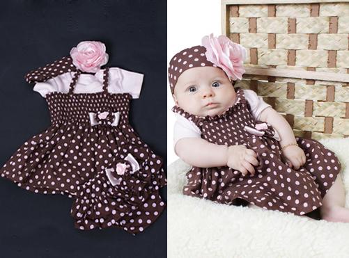 Vestidos de Festa para Bebês – Dicas e Fotos