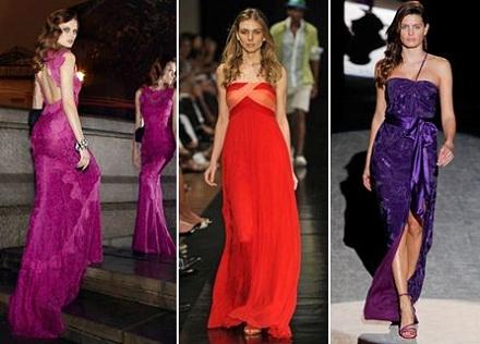Vestidos de Gala Tendências 2013, Dicas e Fotos