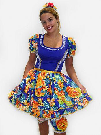 Vestidos para Festa Junina Moda 2013