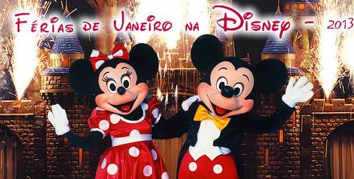 Pacote para Disney 2013