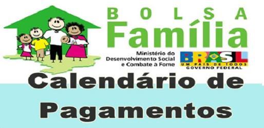 Calendário Bolsa Família 2013