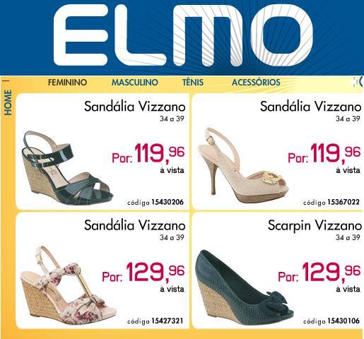 Elmo Calçados, Produtos e Promoções – www.elmo.com.br