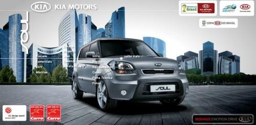 Site da Kia – www.kiamotors.com.br
