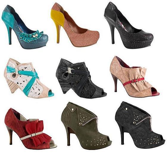 Tanara Calçados Coleção 2012