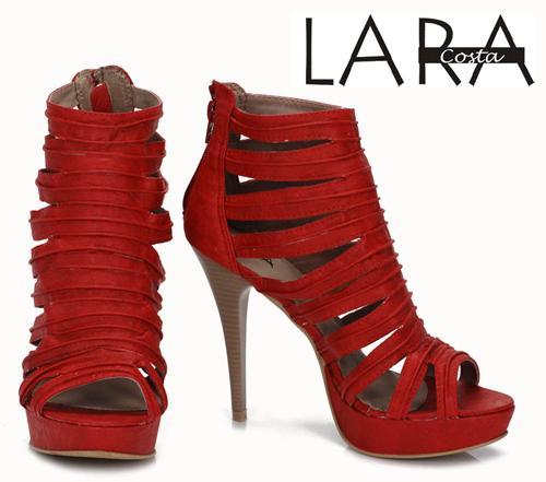 Coleção Lara Costa 2012 Sandálias e Peep Toes – Onde Comprar e Preços