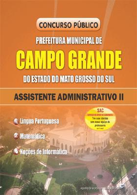 Concurso Prefeitura de Campo Grande MS 2013