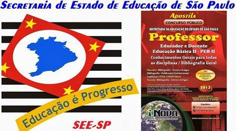 Concurso SEE PEB-SP 2014: Edital, Gabarito e Resultado