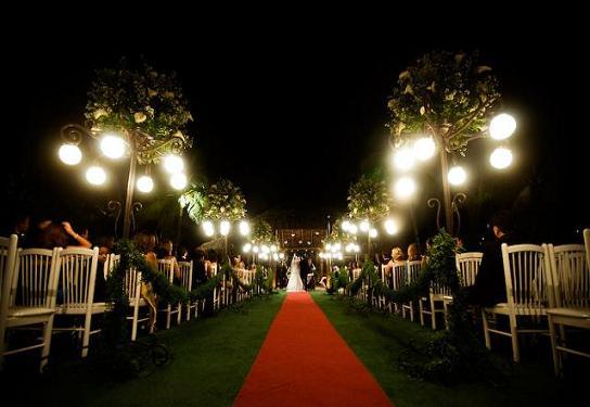 Decoração para Casamento ao Ar Livre á Noite – Dicas e Fotos
