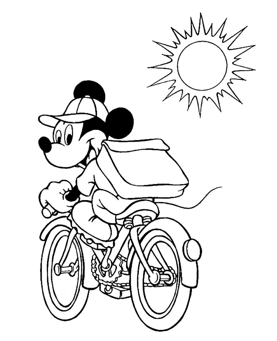 Desenhos Do Mickey Para Imprimir E Colorir