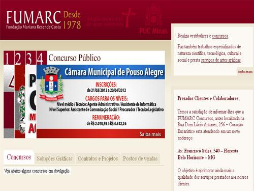 FUMARC Concursos Abertos: Editais, Gabaritos