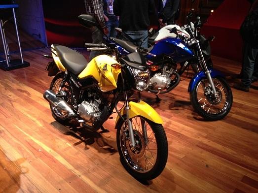 Honda Motos: Linha 2014