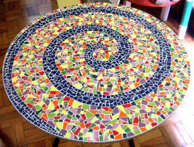 Mosaico de Azulejo: Fotos, Como Usar