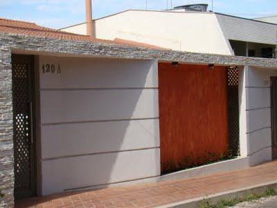 Muros de Casas Simples e Modernas – Modelos de Muros