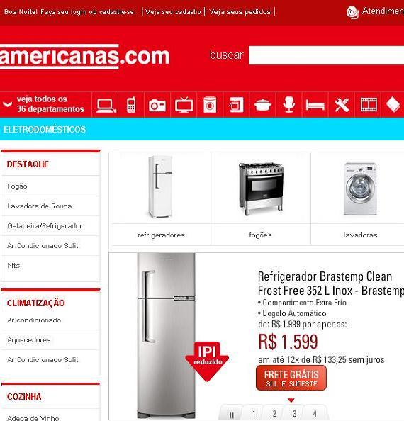 Ofertas Eletrodomésticos Americanas