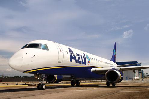 Passagens de Avião Baratas Azul