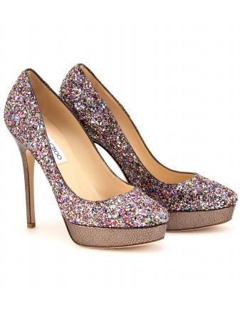 Sapatos com Brilhos, Tendências 2012 – Fotos e Modelos
