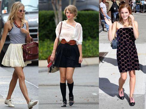 Sapatos Oxford Femininos 2012 – Dicas e Modelos