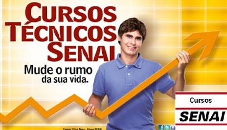 Senai Manaus Cursos Grátis 2013