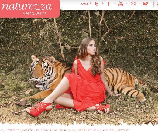 Site Calçados Naturezza – www.naturezza.com.br