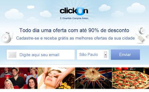 Site ClickOn – www.clickon.com.br
